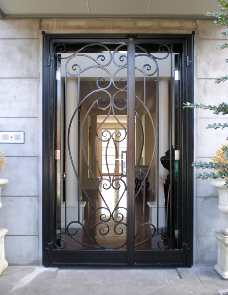 Wrought Iron Doors Bayswater Melbourne Warp Ironworks
