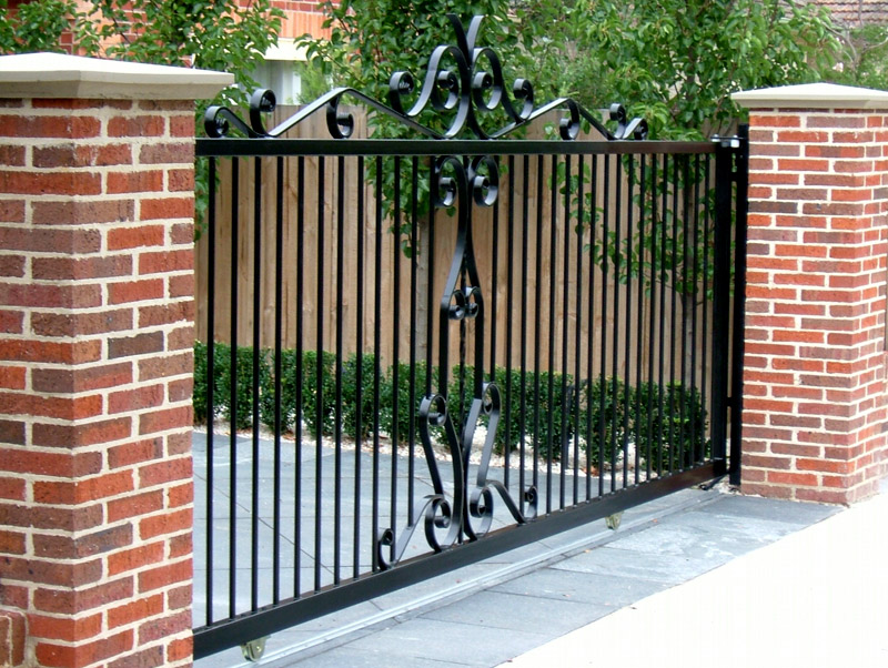 Wrought Iron Gates Bayswater Melbourne Warp Ironworks