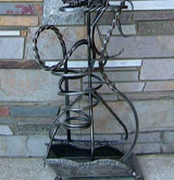 Wrought Iron Metal Sculpture